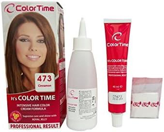Color time, tinte en crema para el cabello de color canela ...