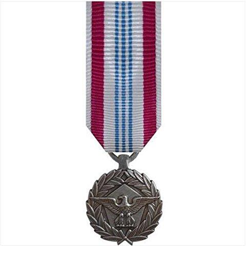 Meritorious Service Mini Medal - Vanguard (Mini)Miniature Defense Meritorious Service (DMSM) Military Medal Award
