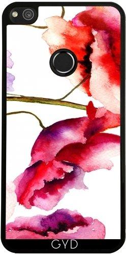 Funda de silicona para Huawei P8 Lite 2017 - Estampado De Flores 02 by Aloke Design