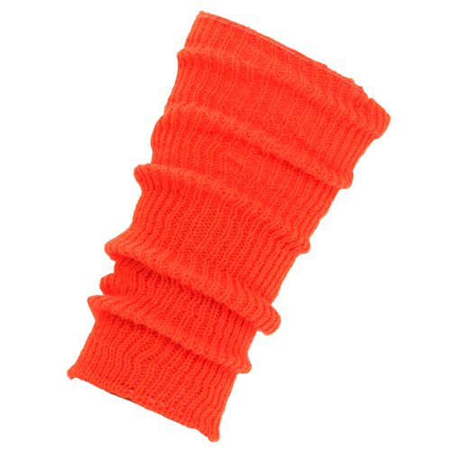 Childs Ribbed Winter Leg Warmers (One Size)