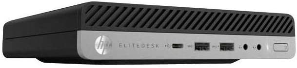 HP EliteDesk 800 G4 Mini Intel Core i7 8700T 2.4 GHz , 8 GB RAM, 256GB SSD Windows 10 Pro (4CB16UT#ABA)