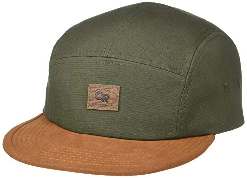 (Outdoor Research Murphy 5 Panel Hat, Juniper/Curry, 1size)