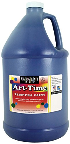 Gallon Blue Art-Time Tempera Paint - Sargent Art 17-6650