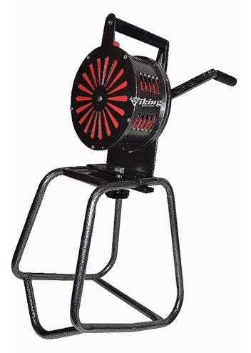 (Viking Horns VMS-120SS Large Manual Operated Hand Crank Air Raid Siren With Stand)