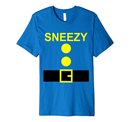 Mens Halloween Dwarf Costume Seven Preschool Teachers Team Shirt 2XL Royal Blue