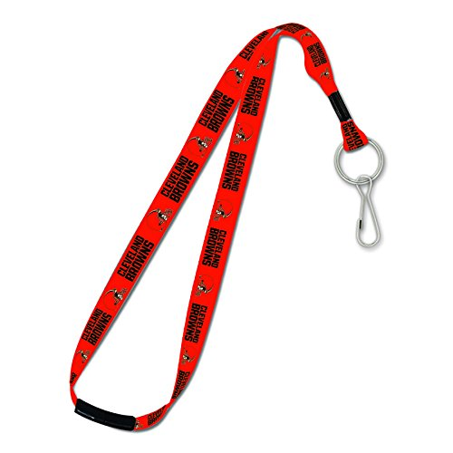 - WinCraft NFL Cleveland Browns Lanyard with Breakaway, 1-Inch