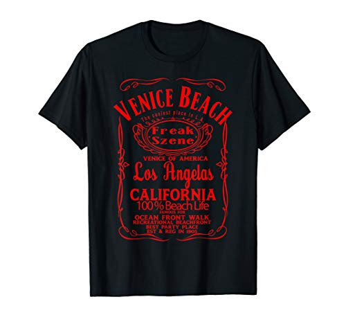 VENICE BEACH Los Angeles California USA United States TShirt (Venice Beach Girl)