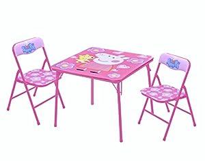Amazon Com Peppa Pig Table Amp Chair Set 3 Piece Toys