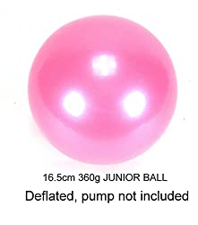 AllPlay Rhythmic Gymnastic Senior Competition Exercise Ball 19cm 420G Olympic Spec for dance and performance