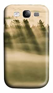 Foggy Forest Custom Polycarbonate Hard Case Cover for Samsung Galaxy S3 SIII I9300