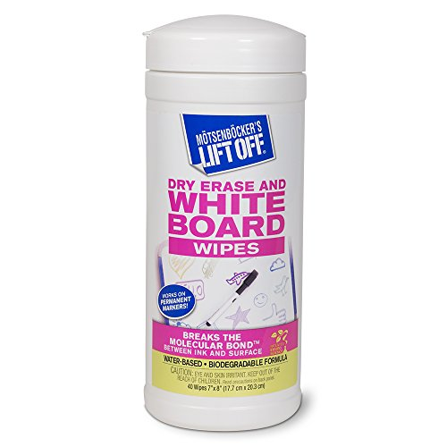 Dry Erase White Board Cleaning Wipes
