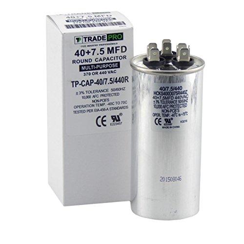 - Carrier Enterprise TR-TP-CAP-40/7.5/440R Capacitor