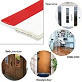"Mr. Rice Energy Saver Door Draft Stopper Strong Adhesive Door Weather Stripping Door Under Seal Soundproof and Noise Stopper, 2"" W x 39"" L"