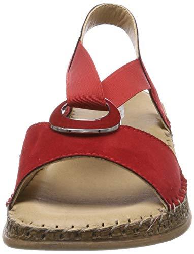 Alla Sandali Cinturino Caviglia Jenny Con Casablanca 05 Donna 2217914 rot XEIwqO