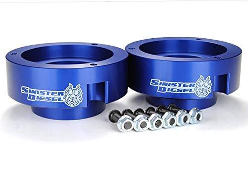 Sinister Diesel Leveling Kit for Dodge Cummins 1994-2012 Blue (4wd Only)