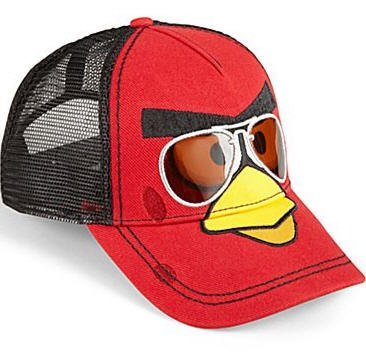 f30d27e6a5e Image Unavailable. Image not available for. Color  Angry Bird Bird Mens Hat  - Baseball Cap