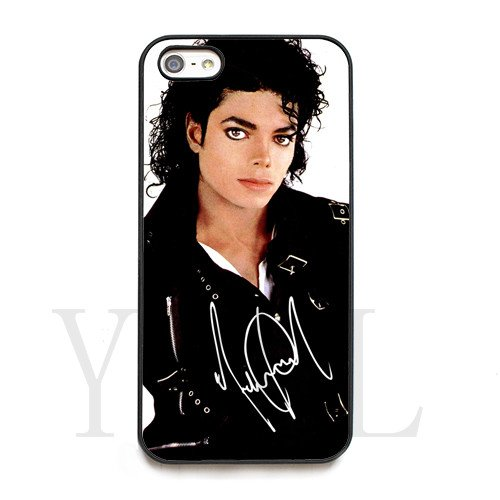 [Michael Jackson signed HD image phone cases for iPhone 5c(Hard ABS Material)] (Michael Jackson Black Or White Costume)
