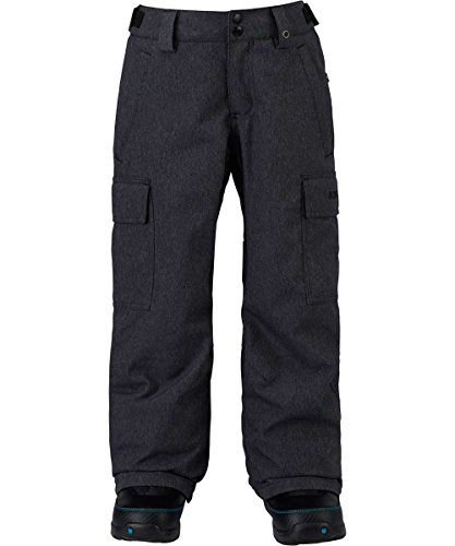 Burton Kids Boys Exile Cargo Snow Pants Denim Size Large by Burton