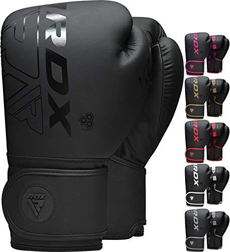 RDX Boxing Gloves Sparring Muay Thai, Premium Maya Hide Leather, Kara Patent Pending, Kickboxing MMA Fight Training…