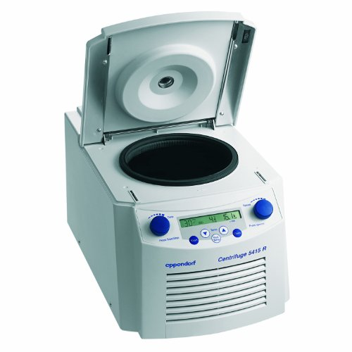 Eppendorf Model 5415 R Variable-Speed Refrigerated Microcentrifuge, 800-13,200rpm Maximum Speed, (Eppendorf Compact)