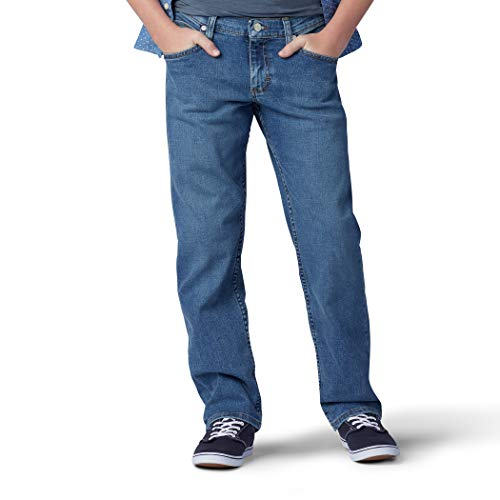 LEE Big Boy Proof Relaxed Fit Tapered Leg Jean, Fierce, 16 Husky