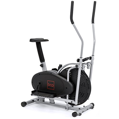 Best Choice Products Elliptical Bike 2 In 1 Cross Trainer Exercise Fitness Machine Home Gym Workout (Machine Fitness Best)