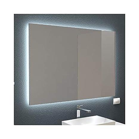 Accessori Bagno Design Minimale.Specchi Retroilluminati Led Arredo Bagno E Casa In Diverse