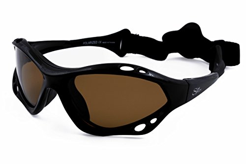 SeaSpecs Black Sunset Specs Extreme Sunglasses ()