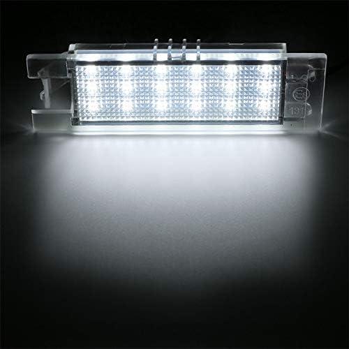 J Corsa D /Éclairage de plaque min/éralogique /à LED compatible avec Astra H Insignia avec r/ésistance bus CAN Zafira B