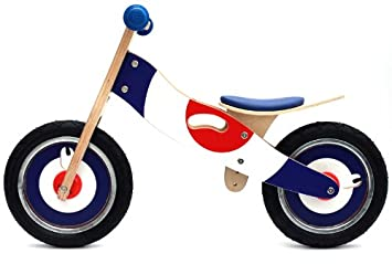 Kidzmotion Jiggy Wooden Balance Bike First Bike Running Bike