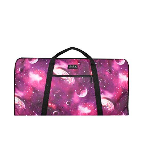 Keyboard Sleeve Bag, 49-Key Gig Bag, Durable, Padded, Purple Cosmos by Phitz by Phitz