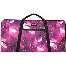 Keyboard Sleeve Bag, 49-Key Gig Bag, Durable, Padded, Purple Cosmos by Phitz