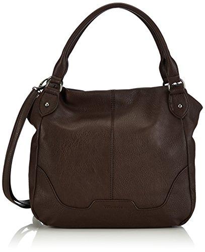 Tamaris LENA Shopper 1005999-304 Damen Shopper 36x32x15 cm (B x H x T), Braun (mocca)