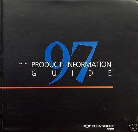 1997 Chevrolet/Geo Full-Line press kit notebook (Geo Press)