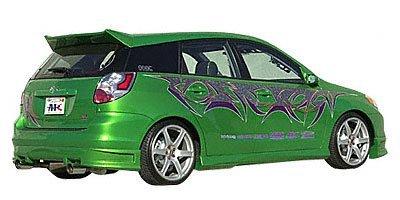Amazon Com Apc Industries Rear Spoiler 2033 00306 Automotive