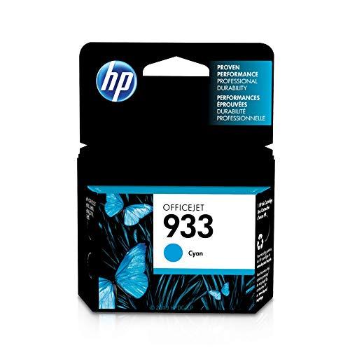 HP 933 | Ink Cartridge | Cyan | CN058AN (Hp 932xl Black Officejet Ink Cartridge Price)