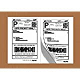 Shipping Label Printer - Half Sheet Self Adhesive Shipping Labels for Laser & Inkjet Printers, 1000 Count (BL-G8511-100)