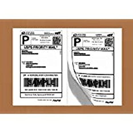 Half Sheet Self Adhesive Shipping Labels for Laser & Inkjet Printers, 1000  Count (BL-G8511-100)