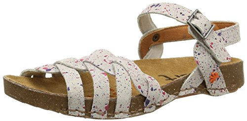 art I Breathe - Sandalias Mujer Varios Colores - Mehrfarbig (DOTTED WHITE)