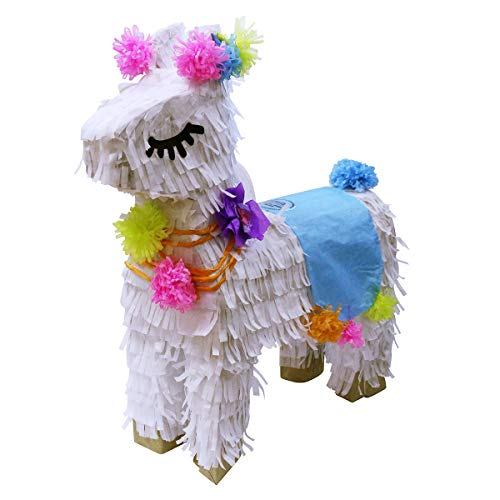 Aurabeam Original Classic Hand Craft Peruvian Llama Party Pinata - Hand made in Mexico