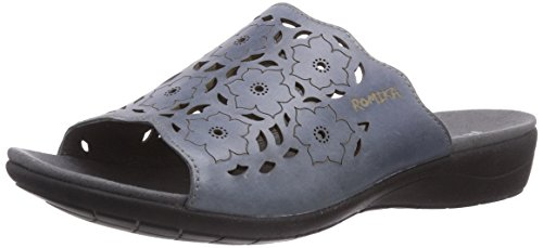 Chaussures Blau Azur ROMIKA Claquettes 02 Femme de Bleu 553 Tahiti 00AwE