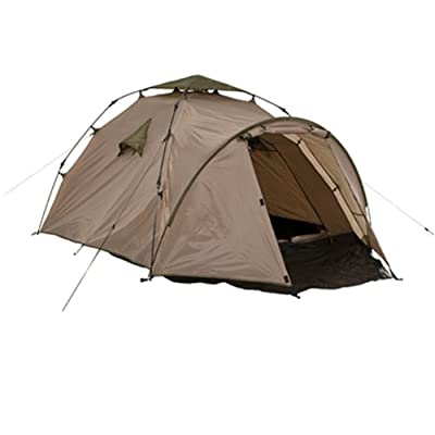 Image of Camping Shelters Lestra Moon Nest 3 Tent for 3 People Olive/Beige 220 + 80 x 130 cm