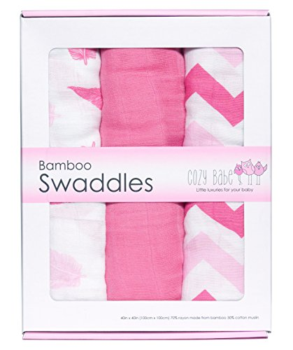 Bamboo Muslin Swaddle Blankets Swaddles product image