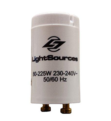 Premium Tanning Lamp Starter 80W - 225W Single Lamp Fluorescent (S12) (Flourescent Starter)