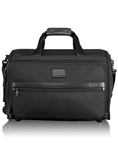 Tumi Alpha 2 Framed Soft Duffle, Black, One Size - Tumi Duffle Bag