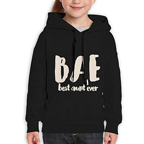 Vintopia Boys Bae Best Aunt Ever Casual Style Climbing Black Hoodie - Fr City Oklahoma Clothing
