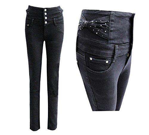 Pantalones Mujer Negro Vaqueros Boutique Para Envy PxqRvzfzw