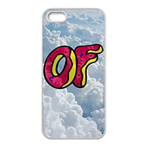 wugdiy New Fashion Hard Back Cover Case for iPhone 5,5S with New Printed odd future