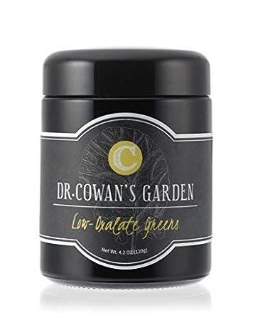 Dr  Cowan's Garden Low-Oxalate Greens Vegetable Powder, 50 Servings