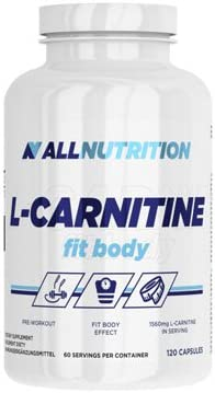 ALLNUTRITION L-Carnitine Fit Body Fettburner Fettreduktion Sport Training Bodybuilding (120 Kapseln)